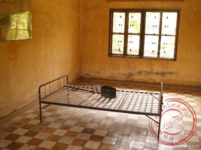 De martelkamer in het Tuol Sieng Museum