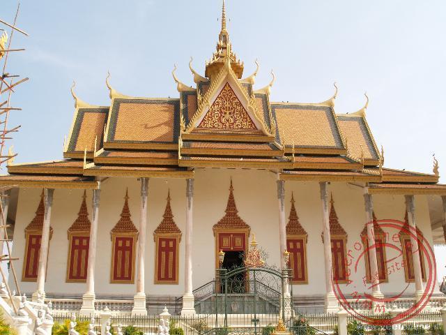 De zilveren pagode in het koninkijk paleis