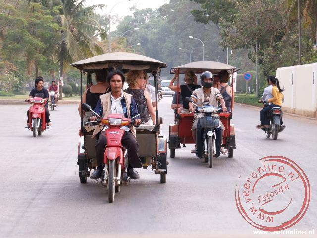 Rondreis Indochina - Met de tuk-tuk door de stad