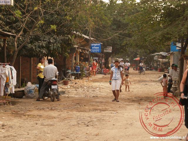 De buitenwijken van Siem Reap