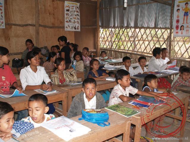 De schoolklas in Siem Reap