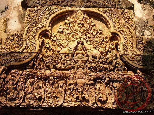 Fraaie inscripties in de tempels