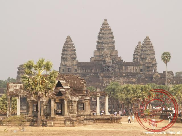 De beroemde Angkor Wat en Cambodja