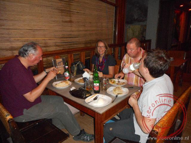 Eten in Restaurant De Kock in Bukittinggi