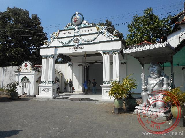 Het Kraton is het paleis van de Sultan