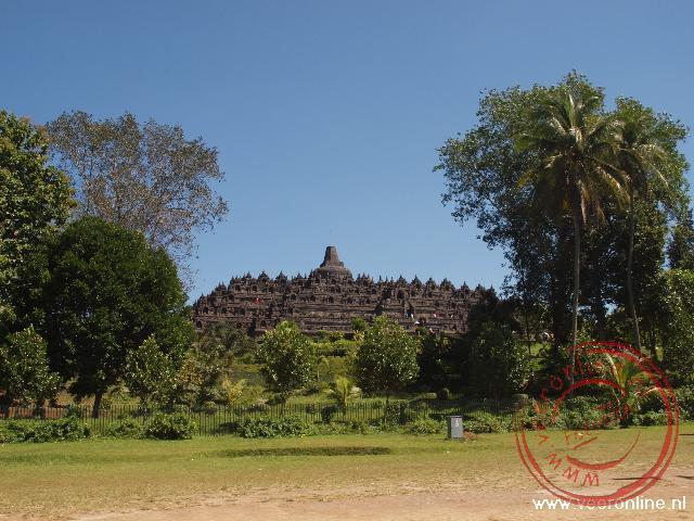 De Boeddhistische Borobudur tempel