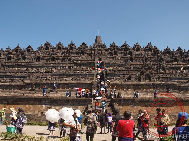 De zeven plateaus telende tempel