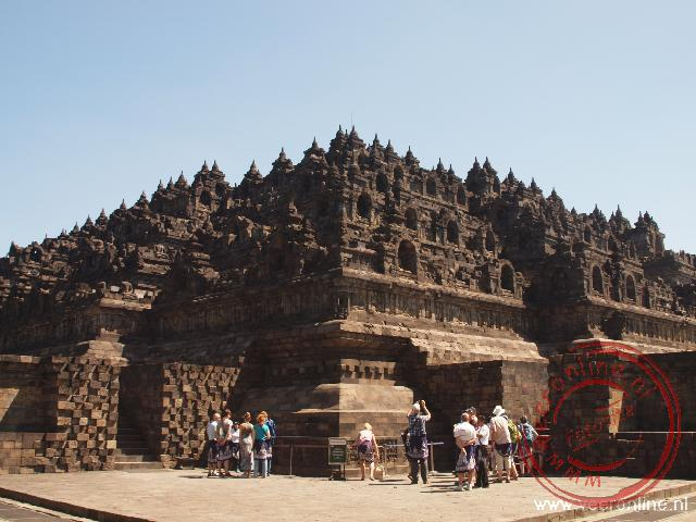 De indrukwekkende Borobudur