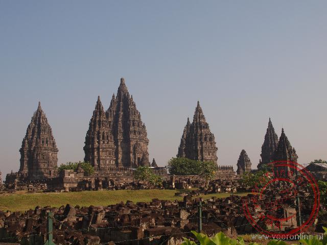 De Hindoestaanse Prambanan tempel