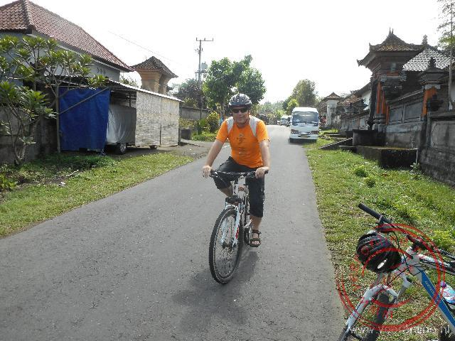 Op de fiets door de dropjes en rijstvelden