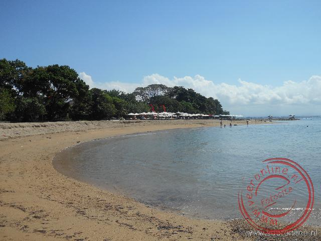 Het heerlijke strand van Bali