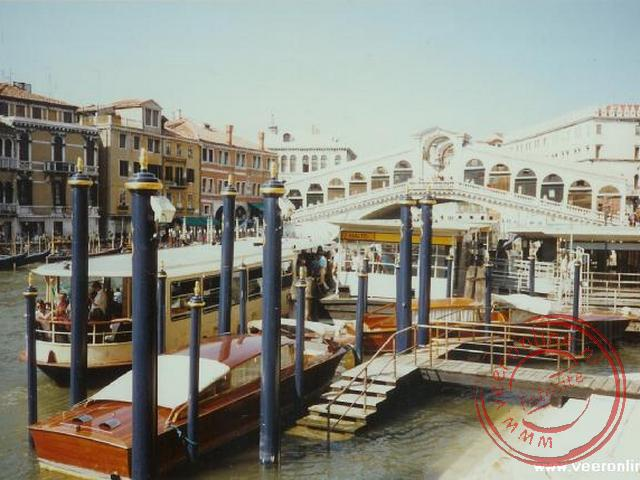Het centrum van Venetië