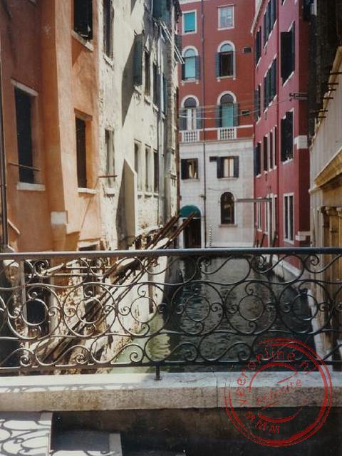 Een kanaal in Venetië