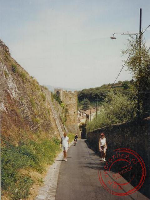 Een wandeling steil omhoog in Florence