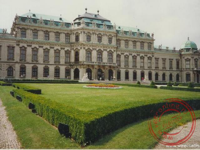 Het zomerpaleis in Wenen