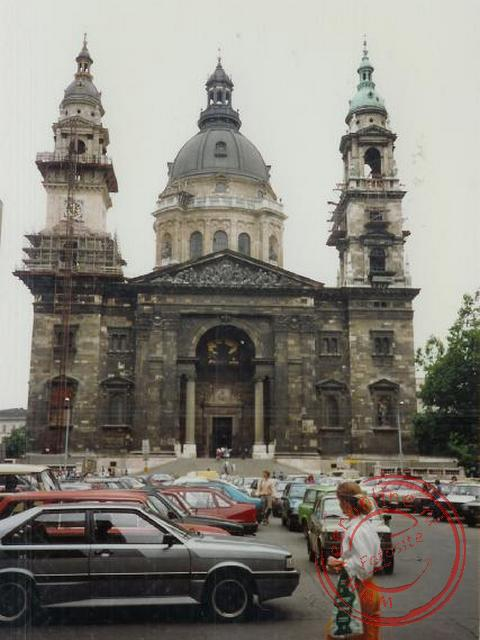 De St. Stephen's Basilica in Budapest
