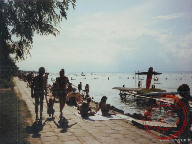 Het Balaton meer bij Siofok