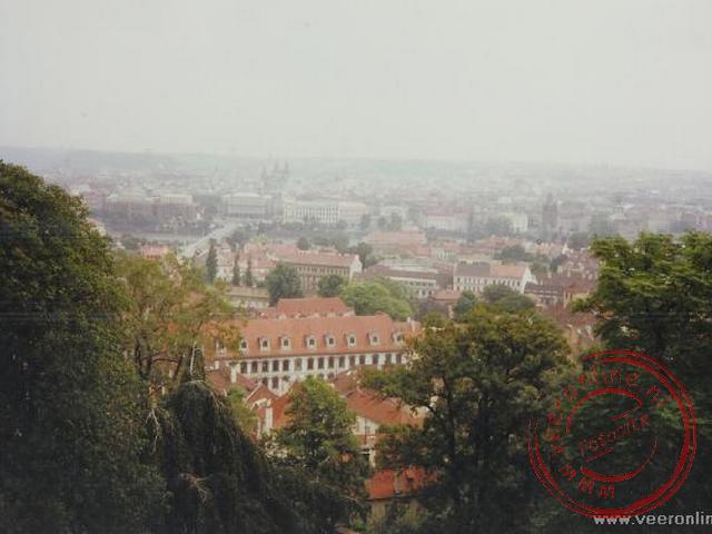 Uitzicht over de stad Praag
