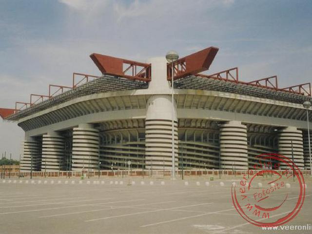 Het San Siro Stadion van AC Milan