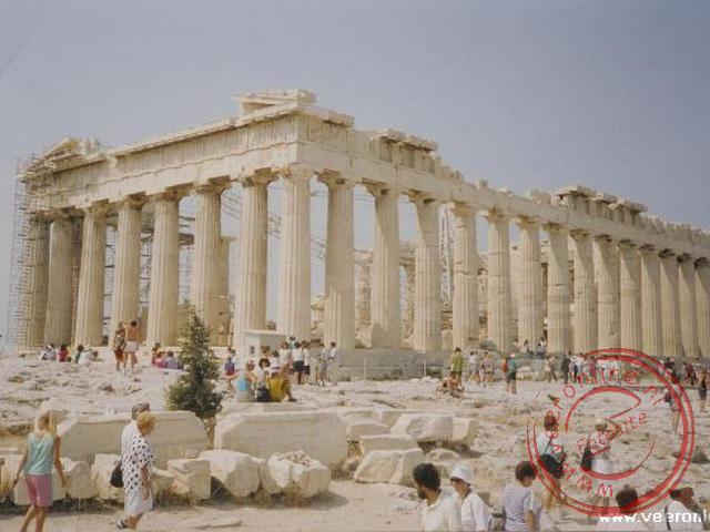 De Akropolis in Athene