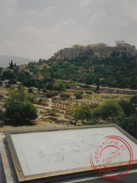Een overzicht van het oude stadscentrum