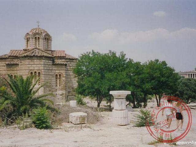 Een kerkje in het oude stadscentrum