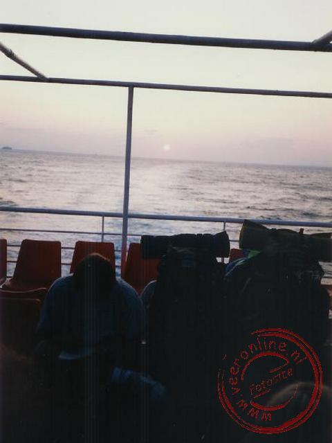 De boottocht naar de Griekse eilanden