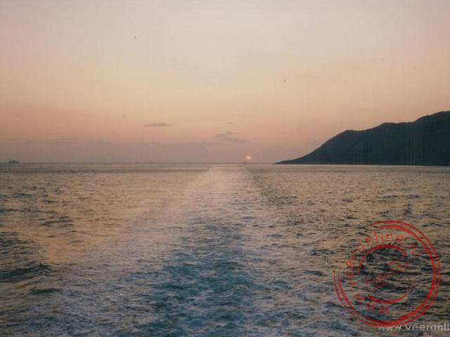 Het afscheid van de Griekse eilanden