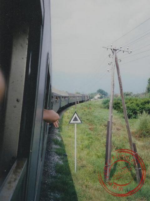 De trein van Thessaloniki naar Istanbul