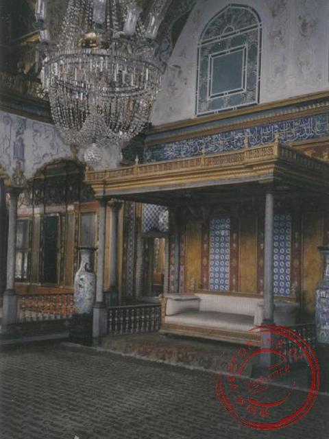 Het paleis van de Sultan in Istanbul