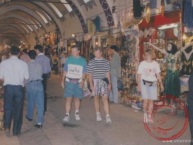 De overdekte bazaar, kijken, kijken maar niet kopen