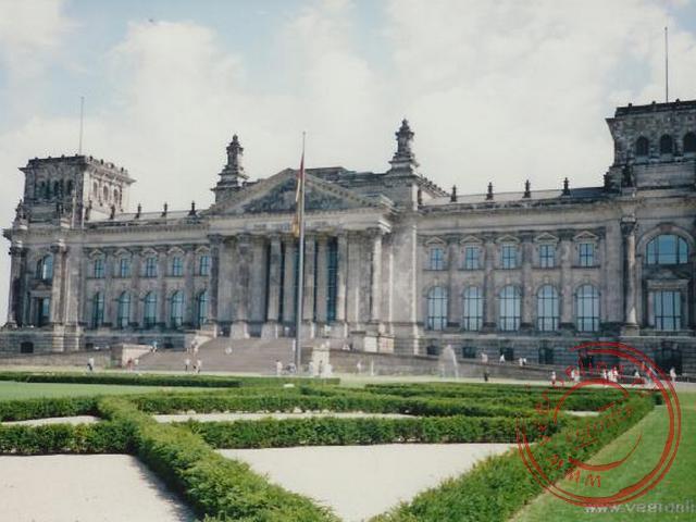 De Rijksdag in Berlijn