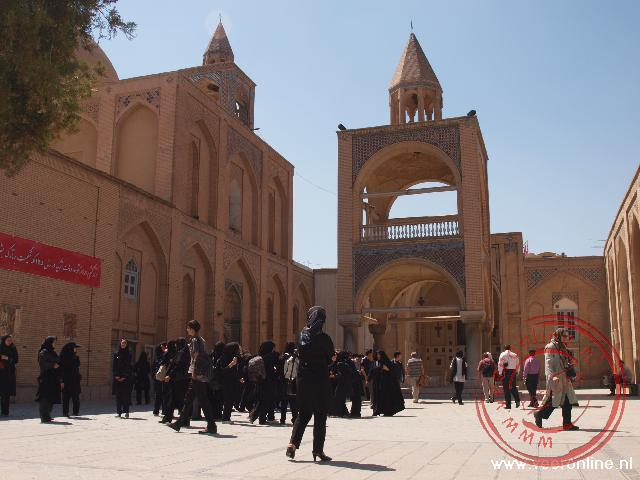 De Armeense Church of Bethlehem in Esfahan