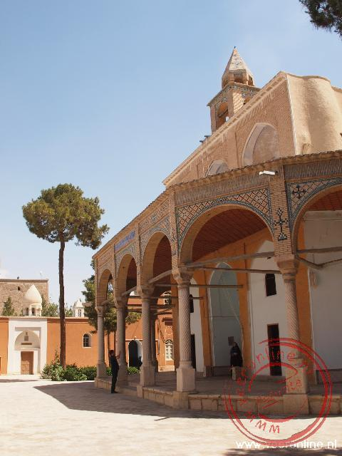 De Armeense kerk Church of St Mary in Esfahan