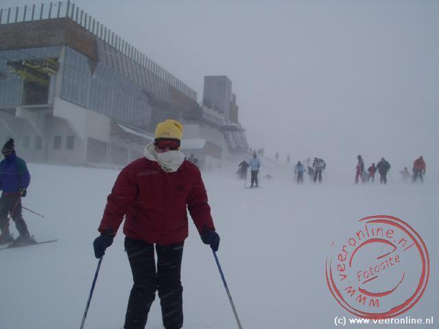 Jose op de ski