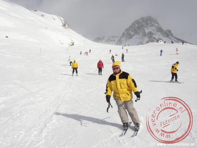 Ronald komt aan skiën