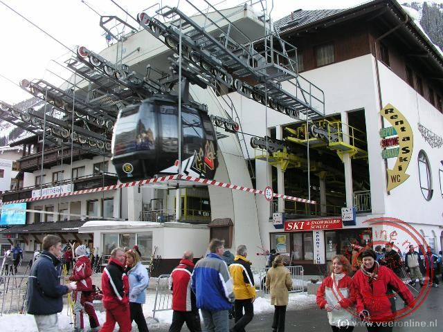 De gondellift in Ischgl