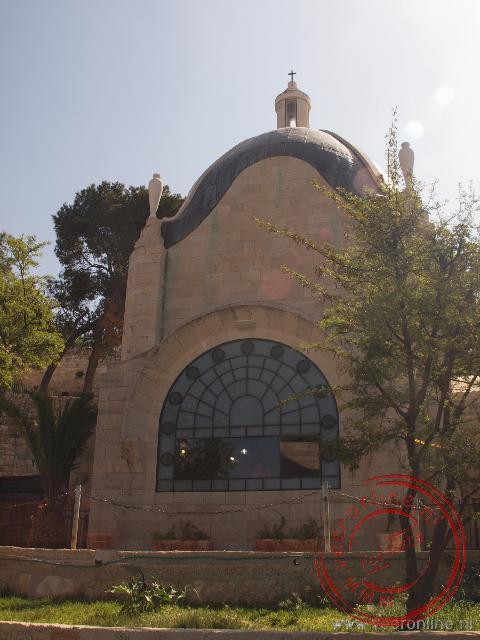 De Dominus Flevit is de plaats waar Jezus Jeruzalem aanschouwde en huilde over het lot van de stad