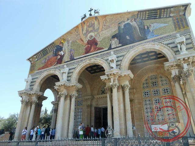 De Kerk van Alle Naties of de Basilica van de Doodsangst.