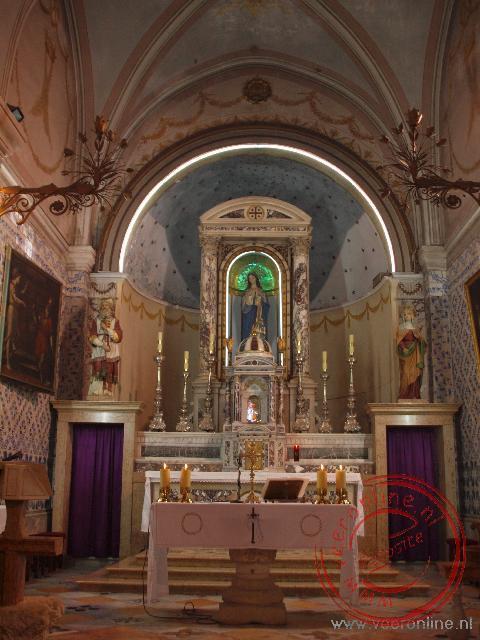 De kerk waar Johannes de Doper geboren is in Ein Karem
