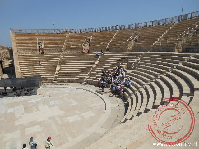 Het Romeinse theater in Caesarea
