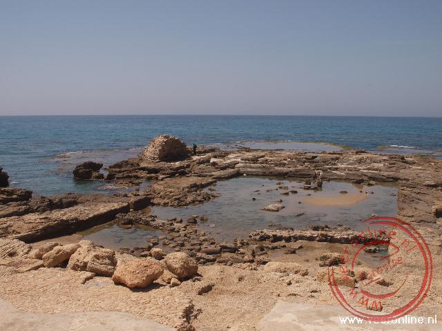 Herodus de Grote liet aan de rand van de zee een zwembad aanleggen