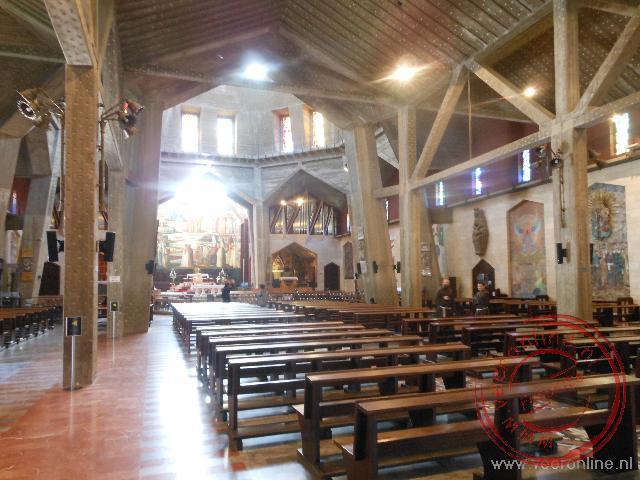 De bovenkerk in Nazareth