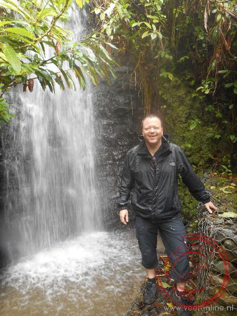 Een waterval in de Blue Mountains