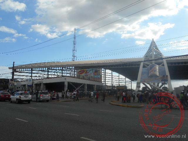 Het busstation in Kingston