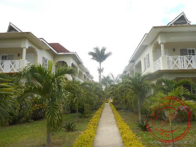 De appartementen van het Coral Seas Beach hotel