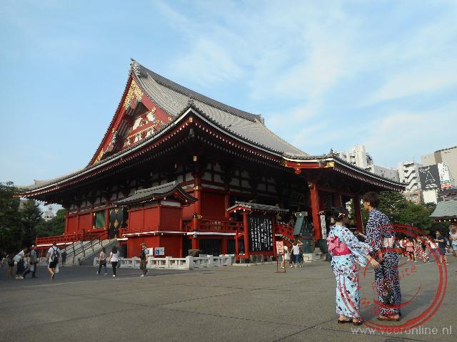 De Senso-ji tempel behoort tot één van de mooiste van Tokyo