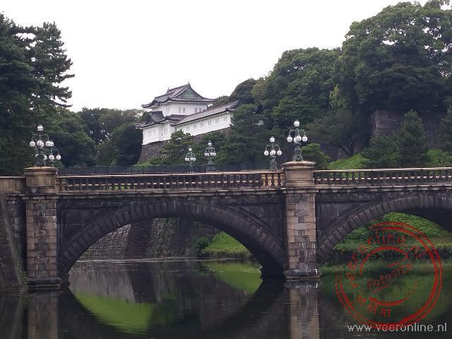 het keizerlijk paleis in het centrum van Tokyo