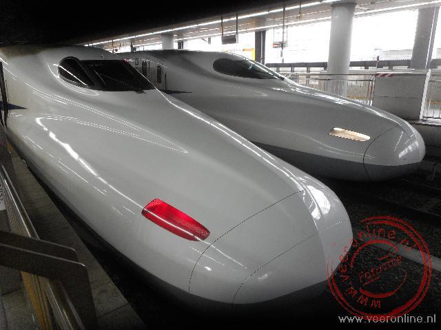 De Shinkansen, de Japanse hoge snelheidstrein