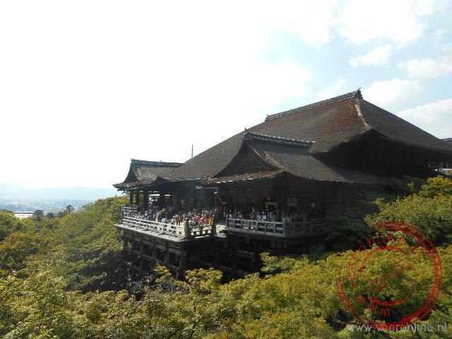 Het uitzicht vanaf het Kiyomizu-dera heiligdom